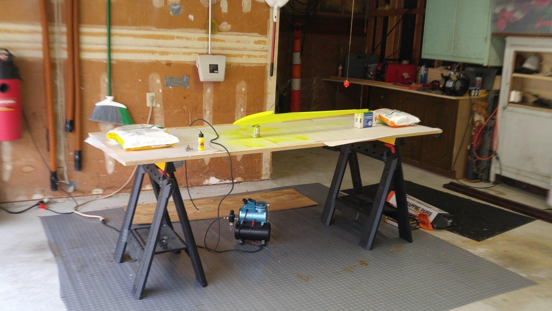 Painting Duet Fuselage